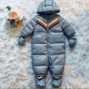 Gymboree Rainbow Puffer Snow Suit